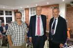 Councillors Holland and Prowse with Secretary Grayling