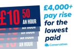 We're ending low pay in work